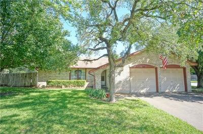 Round Rock Single Family Home For Sale: 1613 Wildwood Dr