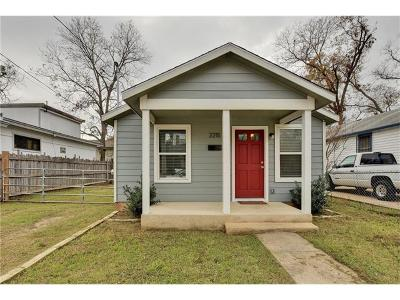 Travis County Single Family Home For Sale: 2215 Santa Rita St