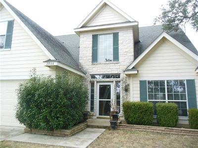 San Marcos Single Family Home For Sale: 2044 North View Dr