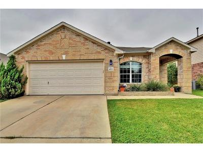 Pflugerville Single Family Home For Sale: 4213 Rolling Water Dr