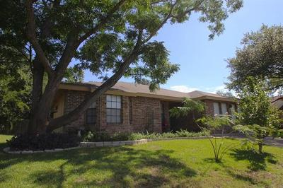 Round Rock Single Family Home For Sale: 2406 Creek Bend Cir