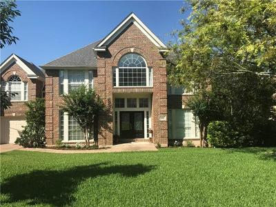 Austin Single Family Home Pending - Taking Backups: 9272 Scenic Bluff Dr