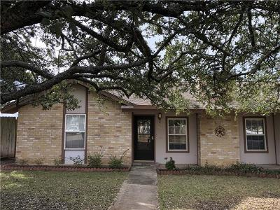 Cedar Park Single Family Home Pending - Taking Backups: 1801 Yaupon Trl