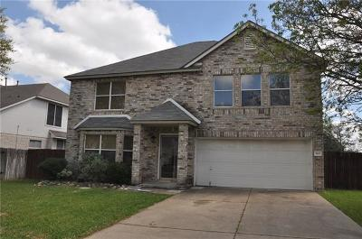 Round Rock Single Family Home For Sale: 1803 Gunsight Dr