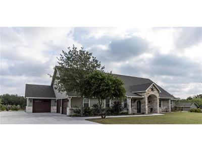 Burnet County Single Family Home For Sale: 118 Granite