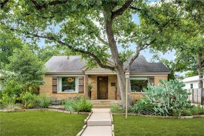 Austin Single Family Home For Sale: 3105 French Pl