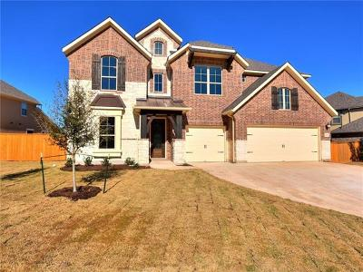Leander Single Family Home For Sale: 4413 Cherry Bark Dr