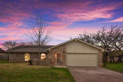 Cedar Park Single Family Home Pending - Taking Backups: 2503 Versailles Dr
