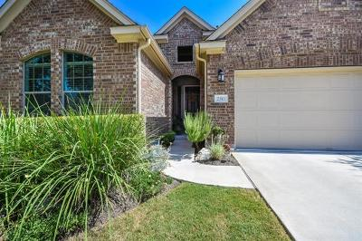 Leander Single Family Home For Sale: 2313 Lookout Range Dr
