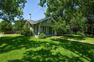 Taylor Single Family Home For Sale: 510 W 10th St