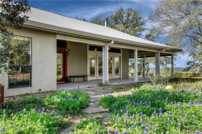 Dripping Springs Single Family Home For Sale: 710 Bell Springs Rd