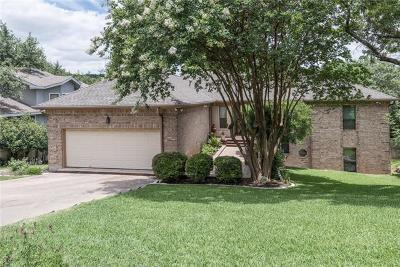 Travis County, Williamson County Single Family Home For Sale: 6007 Bon Terra Dr