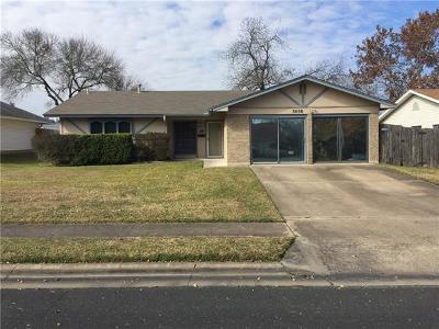 Austin Single Family Home For Sale: 8606 Colonial Dr