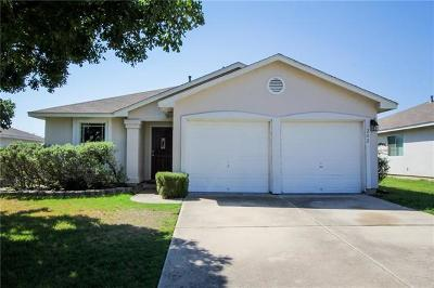 Leander Single Family Home Pending - Taking Backups: 202 Golden Gate Dr