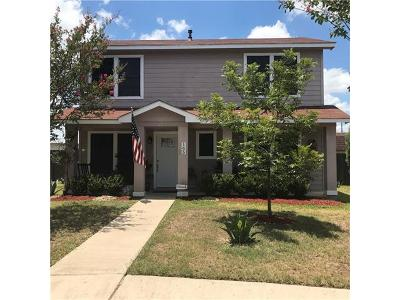 Pflugerville Single Family Home Pending - Taking Backups: 165 Segovia Way