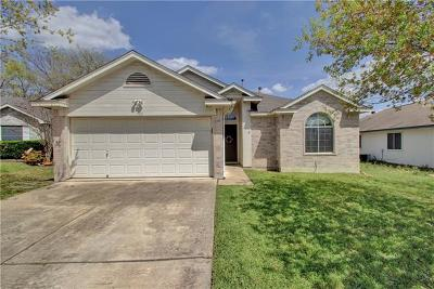 Hutto TX Single Family Home For Sale: $169,000