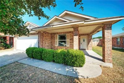 Leander Single Family Home For Sale: 603 Golden Gate Dr