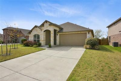 Round Rock Single Family Home For Sale: 912 Palo Duro Loop