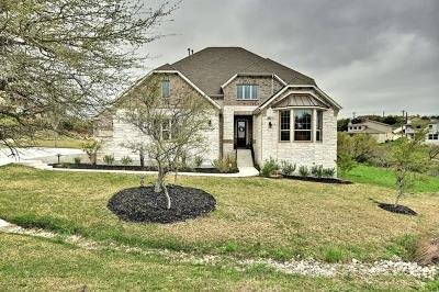 Dripping Springs Single Family Home For Sale: 17900 Vistancia Dr