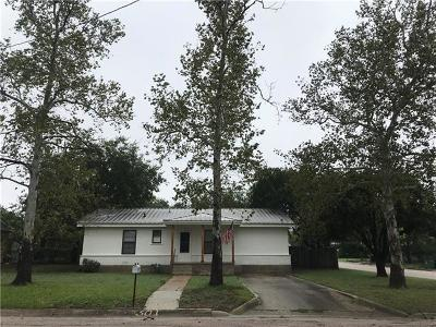 Burnet County Single Family Home For Sale: 501 Lamon St