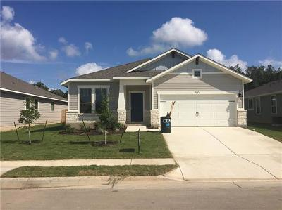Leander Single Family Home For Sale: 153 Syrah Ct