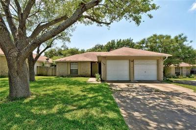 Round Rock Single Family Home For Sale: 706 Firethorn Ln