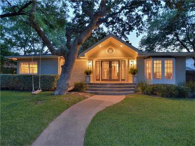 Austin Single Family Home Pending - Taking Backups: 2416 Vista Ln