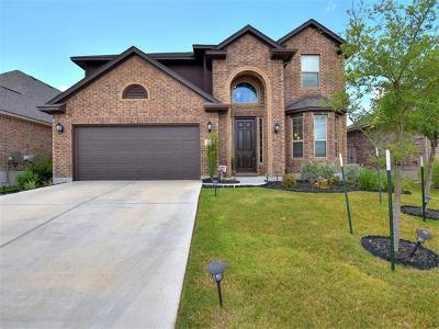 Leander Single Family Home For Sale: 2305 Granite Hill Dr