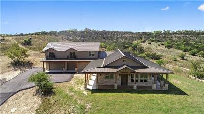 Dripping Springs Single Family Home For Sale: 11235 Grand Summit Blvd