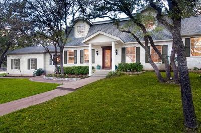 Hays County, Travis County, Williamson County Single Family Home For Sale: 10634 Glass Mountain Trl