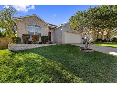 Cedar Park Single Family Home For Sale: 908 Tallow Trl