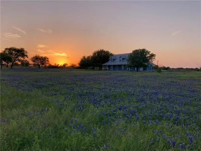 Hutto Farm For Sale: 2287 County Road 105