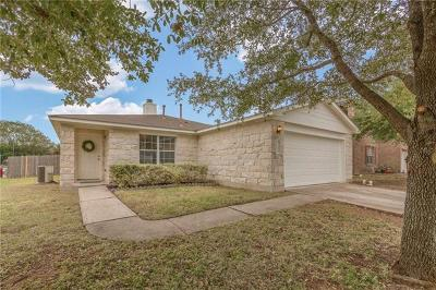 Pflugerville Single Family Home For Sale: 1200 Hughmont