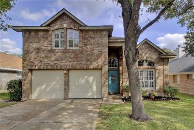 Round Rock Single Family Home Pending - Taking Backups: 8512 Bobcat Dr