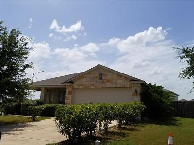 Manor Single Family Home For Sale: 13500 Richard Nixon St