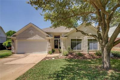 Round Rock Single Family Home Pending - Taking Backups: 3104 Dawn Mesa Ct