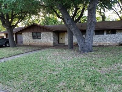 Austin Single Family Home For Sale: 11405 Oakwood Dr