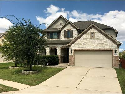 Cedar Park Single Family Home For Sale: 709 Rolling Brook Ln
