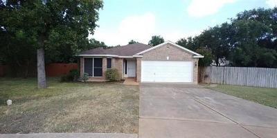 Cedar Park Single Family Home For Sale: 1230 Darless Dr