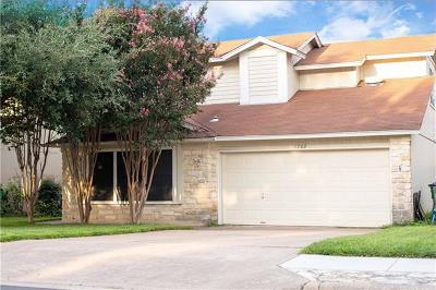 Round Rock Single Family Home For Sale: 1709 Tamra Ct