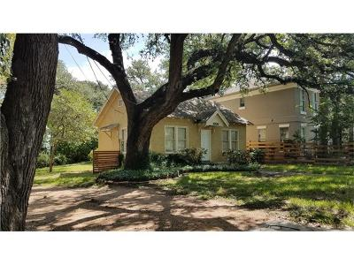 Travis Heights Single Family Home For Sale: 1006 Woodland Ave