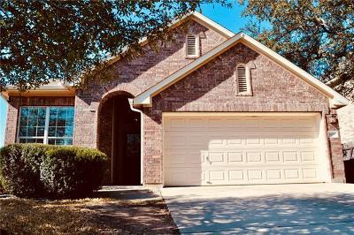 Round Rock Single Family Home Pending - Taking Backups: 600 Spanish Oak Ter