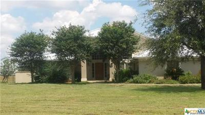 Refugio County, Goliad County, Karnes County, Wilson County, Lavaca County, Colorado County, Jackson County, Calhoun County, Matagorda County Single Family Home For Sale: 2813 County Road 421