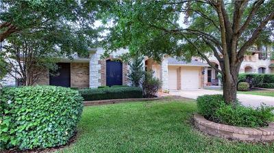 Round Rock Single Family Home For Sale: 4325 Angelico Ln