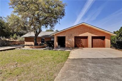 Lago Vista Single Family Home For Sale: 3704 Austin Cv