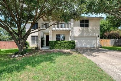 Austin Single Family Home For Sale: 405 Soft Cloud Cv
