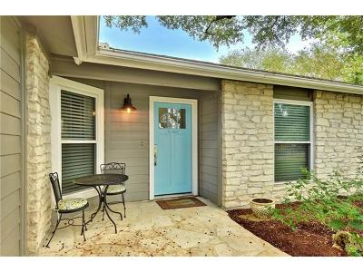 Travis County Single Family Home Pending - Taking Backups: 6407 Fair Valley Trl