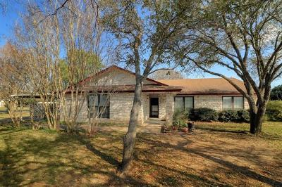 Georgetown Single Family Home For Sale: 2150 Fm 3405