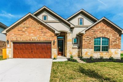Round Rock TX Single Family Home For Sale: $353,626