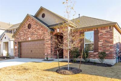 Leander Single Family Home For Sale: 1621 Uhland Dr